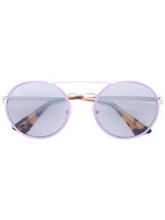 солнцезащитные очки Cinema в круглой оправе Prada Eyewear