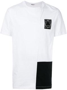 футболка с контрастной панелью McQ Alexander McQueen