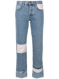 укороченные джинсы в стиле печворк Current/Elliott