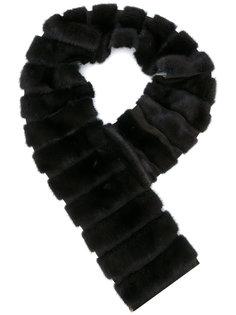 меховой шарф из норки Loro Piana