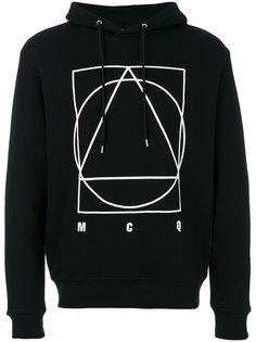 толстовка с геометрическим принтом McQ Alexander McQueen