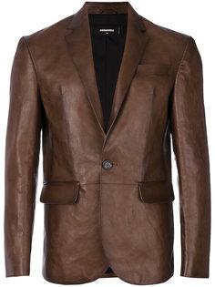 пиджак с эффектом потертости Dsquared2