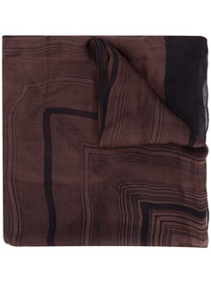 шарф в полоску  Issey Miyake Vintage