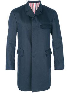 пальто с потайной застежкой Thom Browne