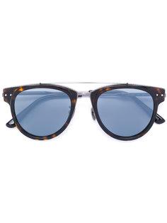 солнцезащитные очки в круглой оправе Bottega Veneta Eyewear