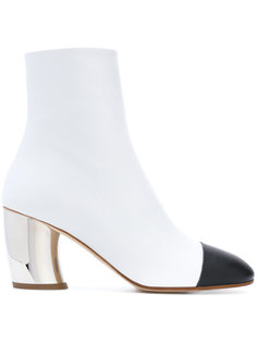 сапоги по щиколотку с контрастным носком Proenza Schouler