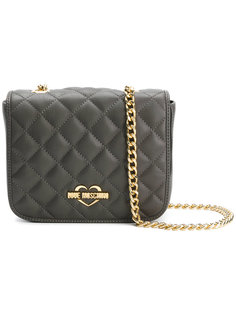 chain quilted shoulder bag Love Moschino