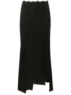 асимметричная юбка с декоративными узлами Rejina Pyo