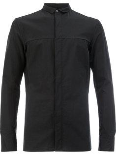 узкая рубашка с потайной застежкой Masnada