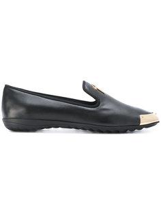 logo embellished loafers Giuseppe Zanotti Design