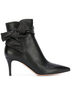 ботинки с узлом Gianvito Rossi