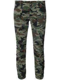 камуфляжные брюки карго в стиле милитари Nili Lotan