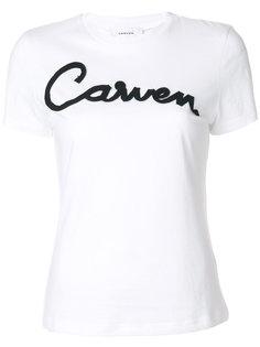 футболка с аппликацией логотипа Carven