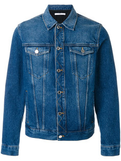 джинсовая куртка с логотипом Givenchy