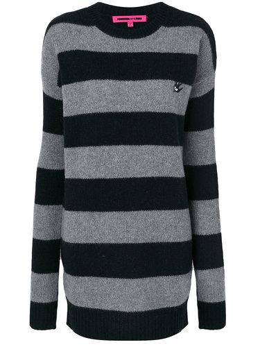 полосатое платье-свитер McQ Alexander McQueen