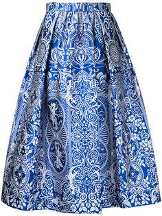 жаккардовая юбка Bowles Mary Katrantzou