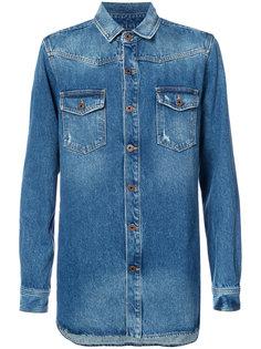 джинсовая рубашка Off-White