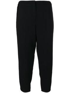 укороченные брюки с полосками по бокам  Nº21