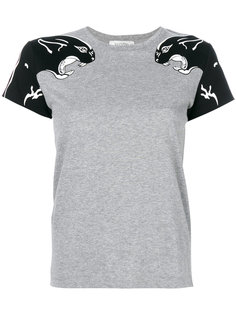 футболка с принтом пантеры  Valentino