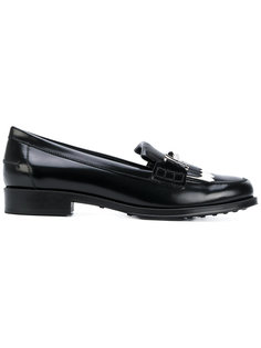 metallic plaque varnished loafers Tods Tod`S