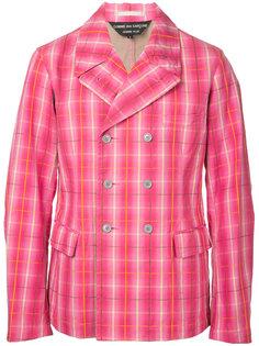 пиджак в клетку  Comme Des Garçons Vintage