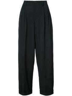 брюки с заниженной проймой Ys Y`s