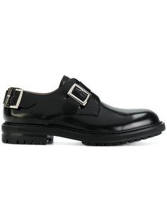 туфли модели слип-он с пряжкой  Alexander McQueen