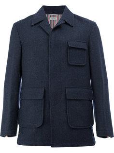 классическое приталенное пальто Thom Browne