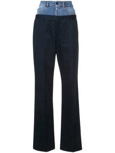 брюки с двойным поясом Maison Margiela