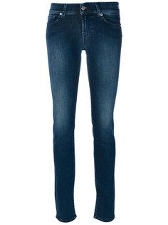 джинсы супер-скинни 7 For All Mankind