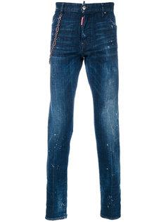джинсы с цепочной лямкой Cool Guy Dsquared2