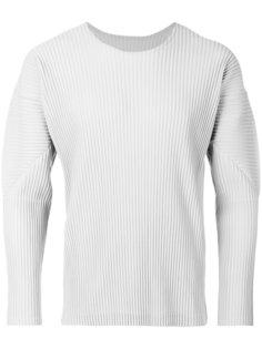 pleated sweatshirt  Homme Plissé Issey Miyake