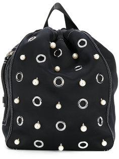 рюкзак с искусственным жемчугом  3.1 Phillip Lim