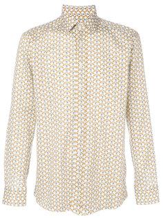 рубашка с принтом лис Etro