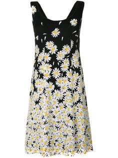 платье с цветочным принтом Cheap and Chic Moschino Vintage