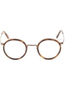 очки в черепаховой оправе Masunaga