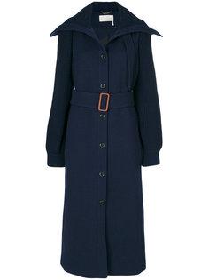 классическое пальто под пояс Chloé