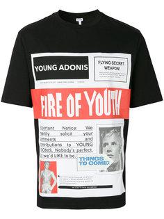 футболка Fire of youth Loewe