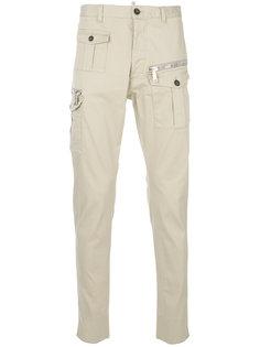 брюки карго Military Dsquared2