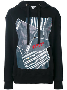 printed hoodie  Versus