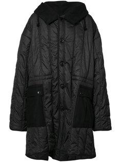 объемное пальто-пуховик Ann Demeulemeester