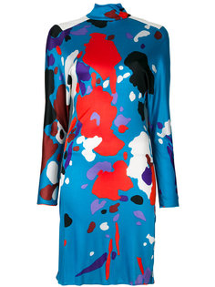 платье с абстрактным принтом  Versace Vintage