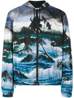 легкая куртка с рисунком Givenchy