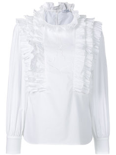 блузка с оборками Monaco Vivetta