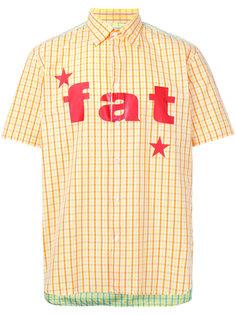 рубашка с принтом Comme Des Garçons Vintage