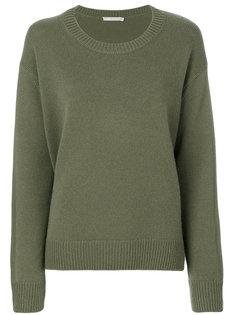 свитер с отделкой в рубчик Vince