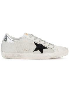 кроссовки в сетчатыми панелями Superstar Golden Goose Deluxe Brand