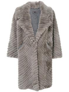 shearling coat Simonetta Ravizza