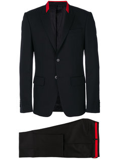 костюм-двойка с контрастной отделкой Givenchy