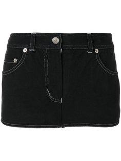 джинсовые шорты мини Chanel Vintage